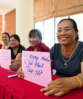 Gặp mặt Mạng lưới lưới hỗ trợ di cư an toàn và an toàn trên mạng dành cho phụ nữ đi lao động ở nước ngoài