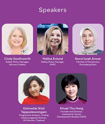 Hội nghị chuyên đề về an toàn của phụ nữ trên Facebook – Cái nhìn cận cảnh về an toàn trực tuyến của phụ nữ ở Đông Nam Á